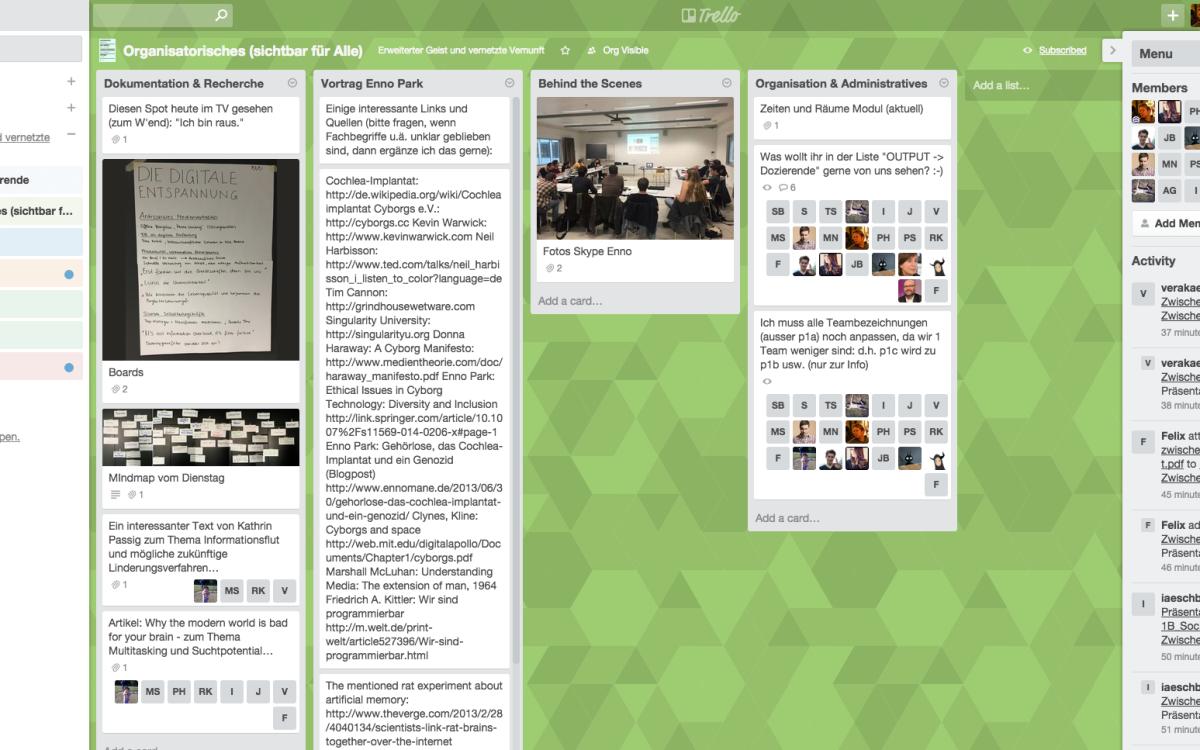 Trello – Projektmanagement und Online-Kollaboration