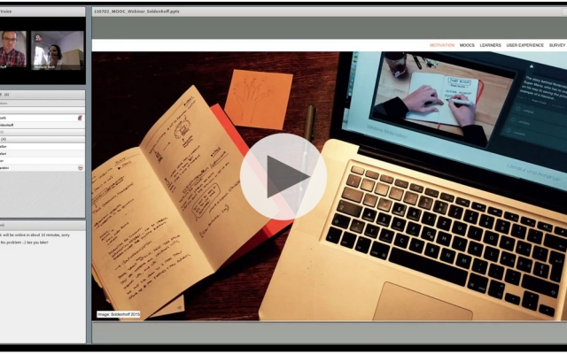 Webinar «The MOOC Learner Experience»