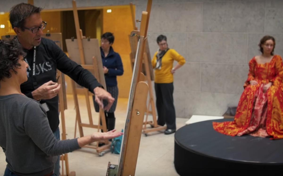 #startdrawing im Rijksmuseum– Lernen zu sehen