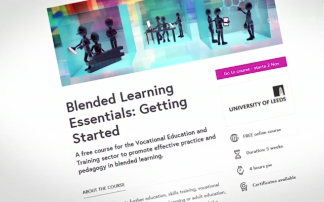 Blended Learning Essentials – Onlinekurs auf FutureLearn