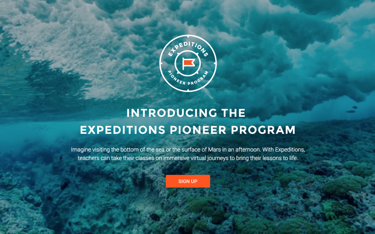 Expedition Pioneer Programm
