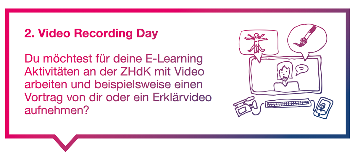 2. ZHdK Video Recording Day