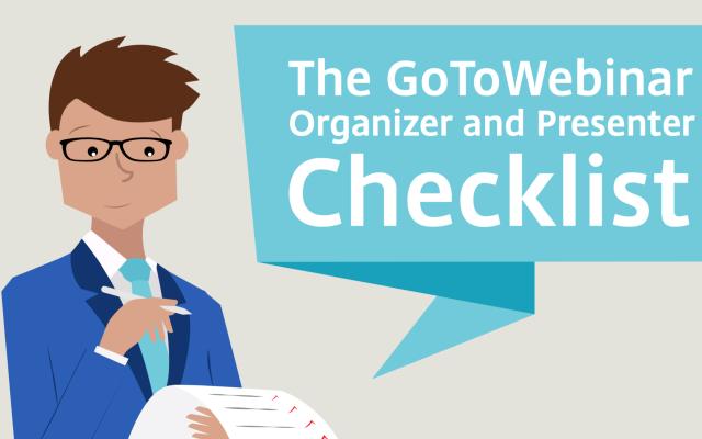Planung eines Webinars – eine Checkliste