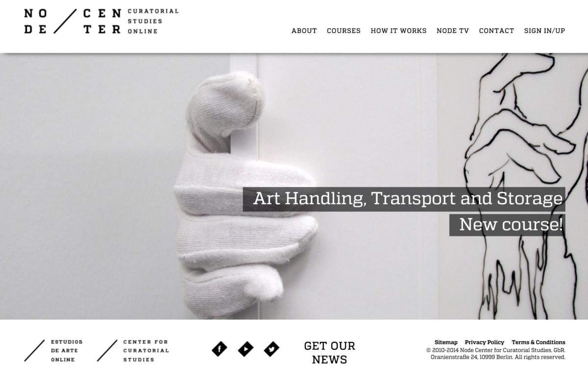 Node Center – Curatorial Studies Online
