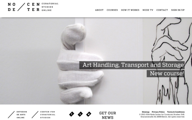 Node Center – Curatorial Studies Online