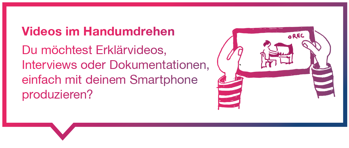 ZHdK Workshop | Videos im Handumdrehen