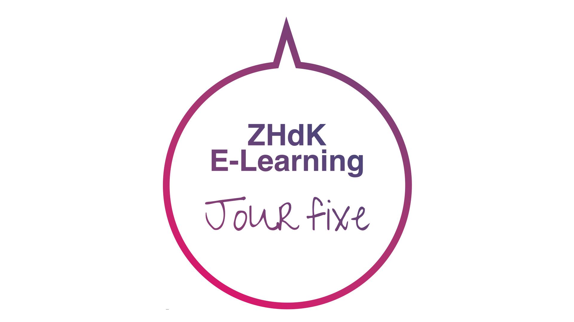 ZHdK E-Learning Jour fixe