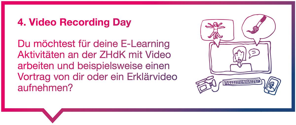 4. ZHdK Video Recording Day