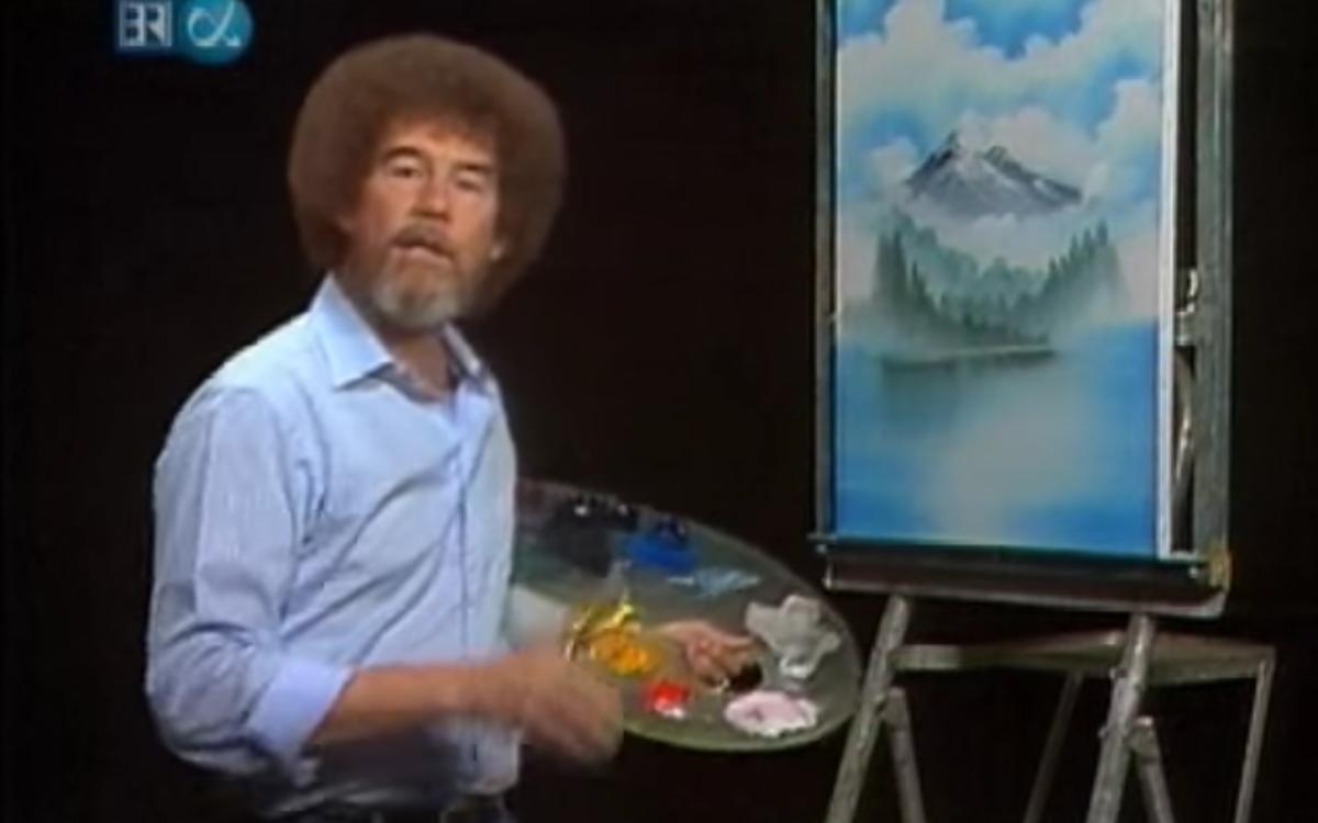 Bob Ross –Malen am TV