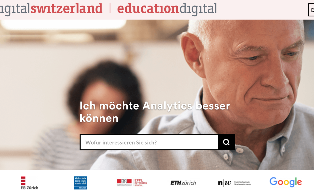 Education Digital von Digital Switzerland