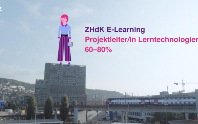 Lust mitzuarbeiten? Wir suchen eine/n Projektleiter/in Lerntechnologien.