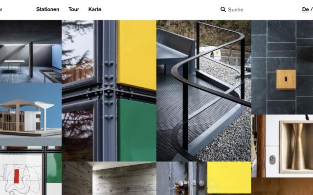 eGuide für den le Corbusier Pavillon