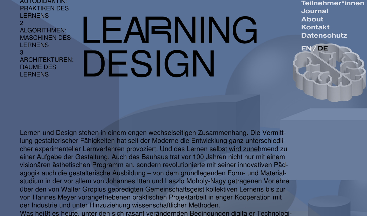 Digital Bauhaus – Learning Design