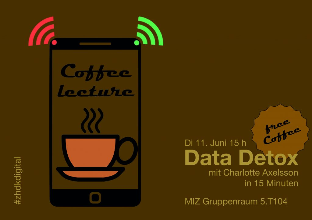 Coffee Lecture «Data Detox» am 11. Juni