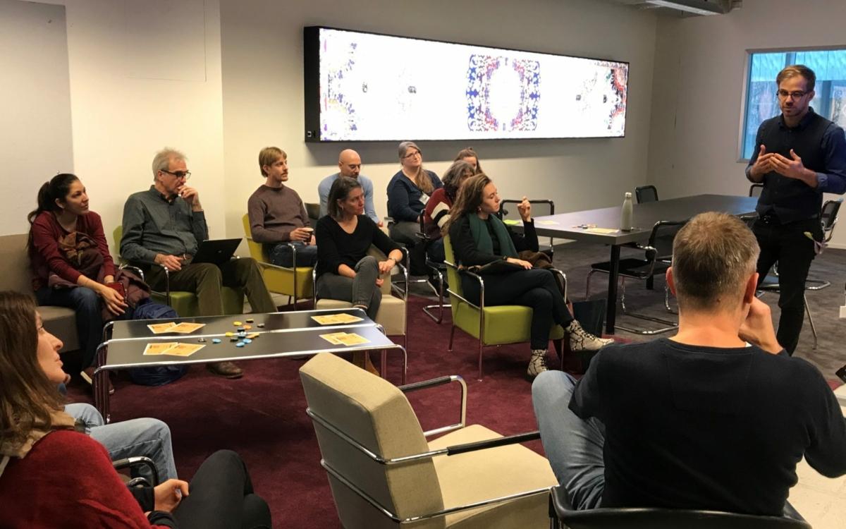 ZHdK Coffee Talk | Zusammenarbeit in Videokonferenzen