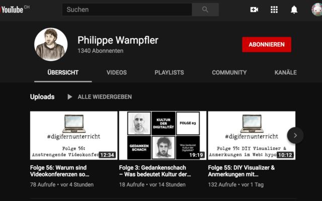 #digitalunterricht von Philippe Wampfler